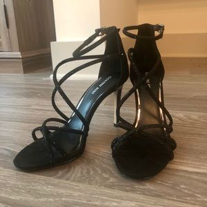 3973e07abab Gianni Bini Shoes - Gianni Bini Anselle Jeweled Strappy Dress Sandals